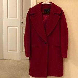 Red Wood Coat